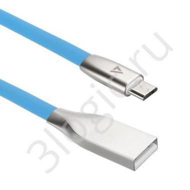 USB кабель ACD-Infinity MicroUSB ~ USB-A TPE, 1.2м, синий (ACD-U922-M1L)