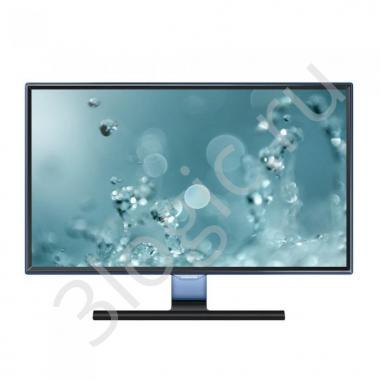 """Монитор 23,6"""" SAMSUNG S24E390HL Black (PLS, 1920x1080, D-sub+HDMI, 4 ms, 178°/178°, 250 cd/m, 1000:1) (730419)"""