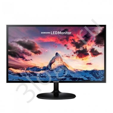 "Монитор 23,5"" SAMSUNG S24F350FHI Black (PLS, 1920x1080, D-sub+HDMI, 4 ms, 178°/178°, 250 cd/m, 1000:1) (219172)"