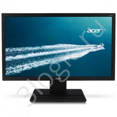 """Монитор 21,5"""" ACER V226HQLBID Black (TN, 1920x1080, D-sub+DVI+HDMI, 5 ms, 170°/160°, 250 cd/m, 100M:1), (888597)"""