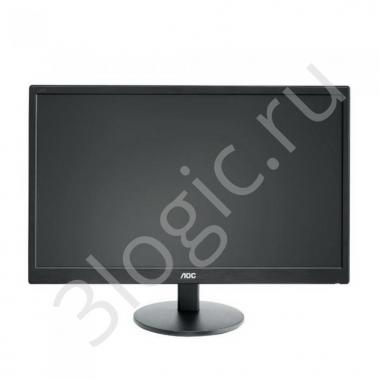 "Монитор 23,6"" AOC E2470SWHE Black (TN, 1920x1080, D-sub+HDMI, 5 ms, 170°/160°, 250 cd/m, 20M:1)"