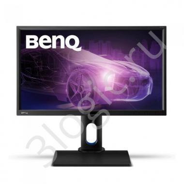 "Монитор 23,8"" BenQ BL2420PT Black (IPS, 2560x1440, D-sub+DVI+HDMI+DP, 5 ms, 178°/178°, 300 cd/m, 20M:1, MM, Pivot)"