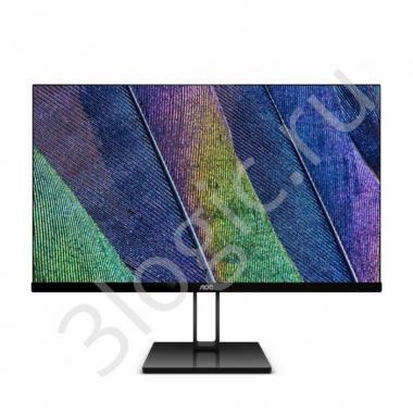 """Монитор 23,8"""" AOC 24V2Q Black (IPS, 1920x1080, HDMI+DP, 5 ms, 178°/178°, 250 cd/m, 20M:1)"""