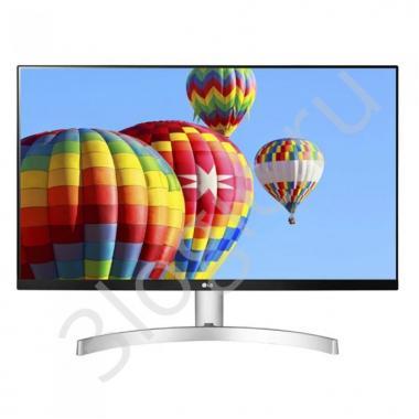 "Монитор 23,8"" LG 24ML600S-W Black-Silver-White (IPS, 1920x1080, D-sub+HDMI, 5 ms, 178°/178°, 250 cd/m, 1000:1)"