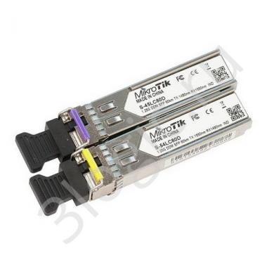 Трансивер S-4554LC80D Комплект из 2 штук SFP modules, S-45LC80D (1.25G SM 80km T1490nm/R1550nm, Single LC-connector) + S-54LC80D (1.25G SM 80km T1550nm/R1490nm, Single LC-connector)