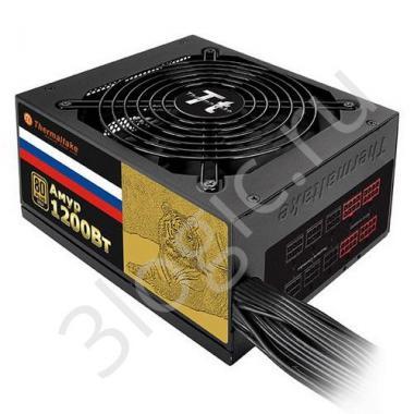 Блок питания Amur GF1 1200 Gold W0430RE 1200W, 80 Plus Gold, модульный