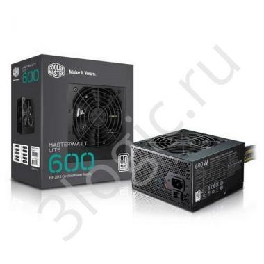 Блок питания Bad Pack MasterWatt Lite 600 230V Sleeve Cable MasterWatt Lite 600 MPX-6001-ACABW-ES RTL {6}