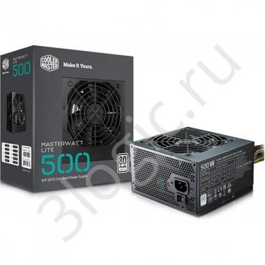 Блок питания Bad Pack MasterWatt Lite 500 230V Sleeve Cable MasterWatt Lite 500  (ErP 2013) 500W - Green power supply with ErP 2013 certified , RTL (MPX-5001-ACABW-ES )