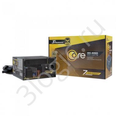 Блок питания CORE GC-650 Gold SSR-650LC APFC 0.99; не модульный МВ(20+4), 1xCPU(4+4),4xPCI-E(6+2),6xSATA,3xMolex;Fan 120мм, S2FC ;КПД>87%;100-240В,50-60Гц;Защиты OPP/OVP/UVP/ OCP/OTP/SCP;EnergyStar,RoHS; MTBF>100000ч, RTL {5}