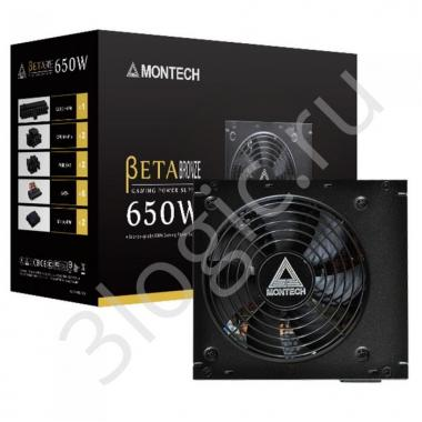 Блок питания BETA 650W 80 PLUS BRONZE Certified Japanese Electronic capacitors EMI filter component 120MM silent fan