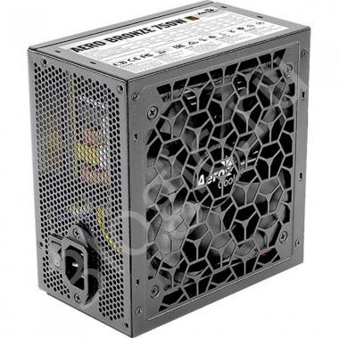 Блок питания AERO BRONZE 750M - 750W, 80+ Bronze, КПД>90%, ATX v2.4, A.PFC, Fan 12cm, Japanese Capacitors
