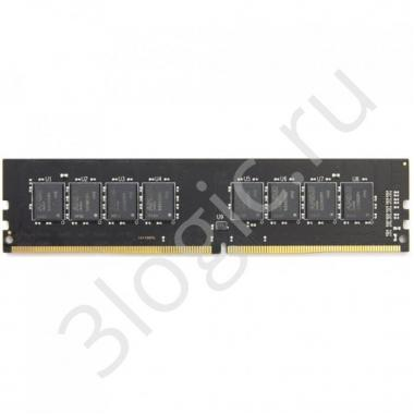 Модуль памяти 16GB AMD Radeon™ DDR4 2666 DIMM R7 Performance Series Black R7416G2606U2S-UO Non-ECC, CL16, 1.2V, Bulk (181623)