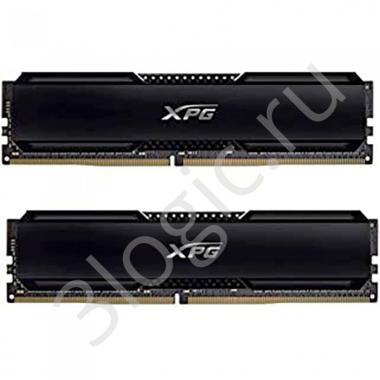 Модуль памяти 16GB ADATA DDR4 3600 DIMM GAMMIX D20 Black Gaming Memory AX4U360038G18A-DCBK20 Non-ECC, CL18, 1.35V, 1024x8, Kit (2x8GB), RTL (930071)