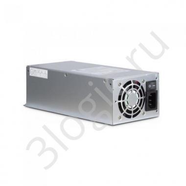 Блок питания 2U0500 500W, 2U (ШВГ=100*70*210 mm), 80PLUS, 4cm fan (аналог FSP500-702UH)