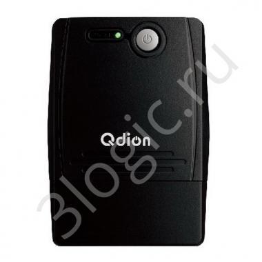 Источник бесперебойного питания QDP850 800VA/480W, 220V/50Hz w/12v9ah*1 w/Germany input power cord w/SCHUKO* 4 outlets (only), USB port With CD LED {4}