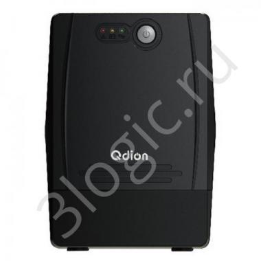 Источник бесперебойного питания QDP1000 1000VA/600W, 220V/50Hz, w/12v7ah*2, w/Germany input power cord w/SCHUKO* 4 outlets (only), USB port With CD LED {2}