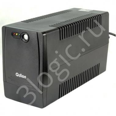 Источник бесперебойного питания Bad Pack QDP1500 1500VA/900W, 220V/50Hz, w/12v7ah*2, w/Germany input power cord w/SCHUKO* 4 outlets (only), USB port With CD LED {2}