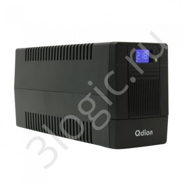 Источник бесперебойного питания QDV 650 IEC  600VA/360W, 220V/50Hz, w/12v7ah*1, w/Germany input power cord, w/IEC*4 outlets (only), w/RJ45 port , USB port With CD, LCD, NO CE,