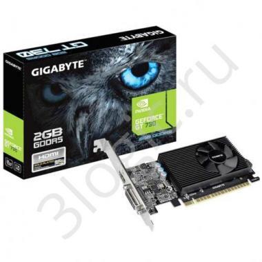 Видеокарта GV-N730D5-2GI GT 730 2GB GDDR5 64bit DVI HDMI RTL {20}