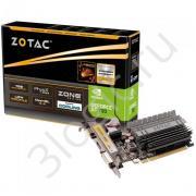 Видеокарта GT 730 Zone Edition 2GB DDR3 64bit DVI HDMI D-SUB (ZT-71113-20L) RTL {20}