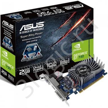 Видеокарта GT730-2GD5-BRK GT 730 2GB DDR5 128bit DVI HDMI D-SUB RTL {20}