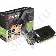 Видеокарта GT 710 LP 1GB DDR3 64bit DVI HDMI D-SUB RTL {20}
