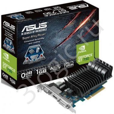 Видеокарта GT730-SL-2GD5-BRK GT 730 2GB DDR5 64bit DVI HDMI D-SUB RTL {20}