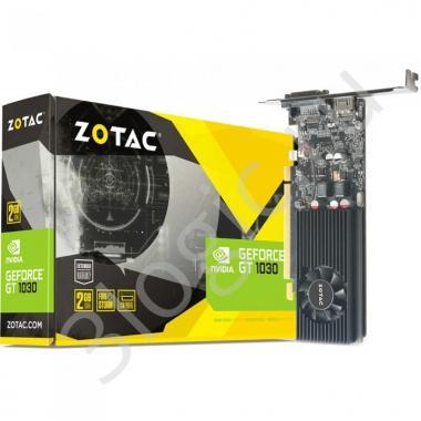 Видеокарта GT 1030  2GB GDDR5 64bit DVI HDMI D-SUB (ZT-P10300A-10L) RTL