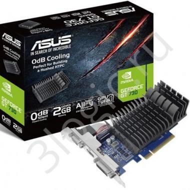 Видеокарта GT730-SL-2G-BRK-V2 GT 730 2GB DDR3 64bit DVI HDMI D-SUB RTL {20}