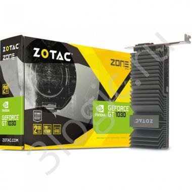Видеокарта GT 1030 ZONE Edition 2GB GDDR5 64bit DVI HDMI D-SUB (ZT-P10300B-20L) RTL