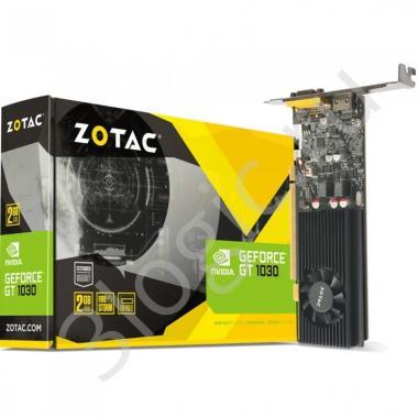 Видеокарта GT 1030 2GB GDDR5 64bit DVI HDMI D-SUB (ZT-P10300E-10L) RTL