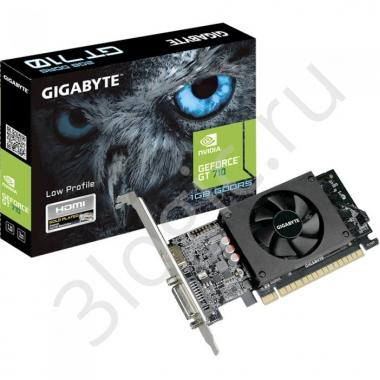 Видеокарта GV-N710D5-1GL GT 710 1GB GDDR5 64bit DVI HDMI RTL {30}