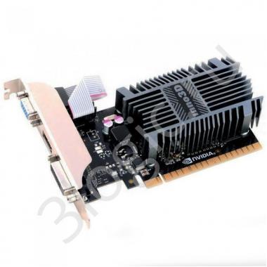 Видеокарта GT710 PCI Express 1GB SDDR3 64bit DVI VGA HDMI (N710-1SDV-D3BX OEM) (425)
