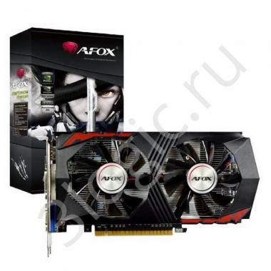 Видеокарта GTX 1050 TI  4GB GDDR5 128bit DVI HDMI DP (AF1050TI-4096D5H2-V4) RTL
