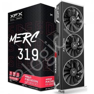 Видеокарта Speedster MERC319 Radeon RX 6800 XT BLACK 16GB GDDR6 256bit HDMI 2xDP USB-C (RX-68XTACBD9), RTL