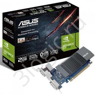 Видеокарта GT710-SL-2GD5 (-DI) GT710-SL-2GD5 GT 710 2GB GDDR5 64bit DVI HDMI D-SUB RTL {20}