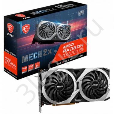 Видеокарта RX 6700 XT MECH 2X 12G  12 GB GDDR6 192 bit 3xDP HDMI