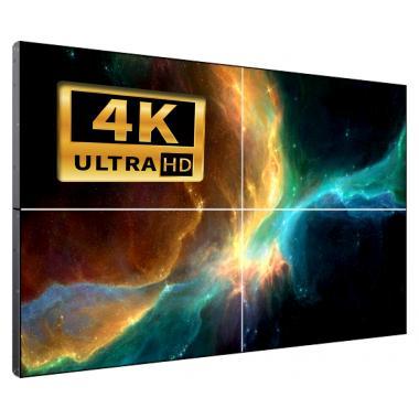Видеостена 2х2 FPB 110″ из 4 панелей LCD 4K