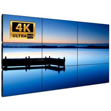 Видеостена 3х3 из 9 панелей 55″ LCD 4K