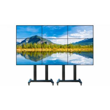 Видеостена 3х3 из 9 панелей 55″ LCD Full HD