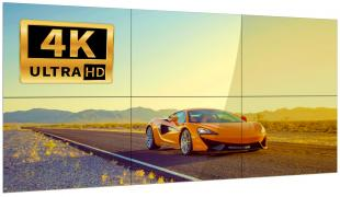 Видеостена 2х3 из 6 панелей 55″ LCD 4K