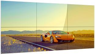 Видеостена 2х3 из 6 панелей 55″ LCD Full HD