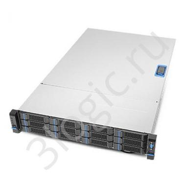"""Корпус 384-19019-Z10600 RM23912 AS'Y COMPONENT,19-0033,SINGLE,2U,3.5""""12 BAY,CHASSIS ASSY,FOR KFT"""