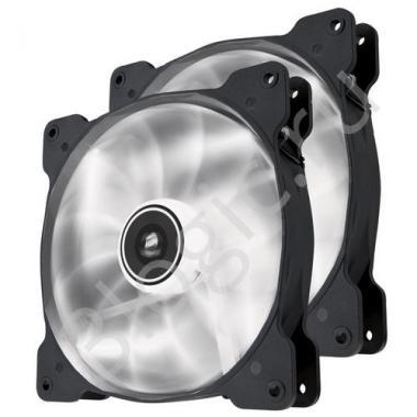 Вентилятор Air Series SP140 LED White High Static Pressure 140mm Fan Twin Pack  [CO-9050035-WW]   RTL{10}