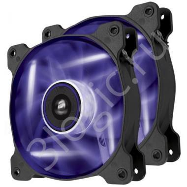 Вентилятор Air Series SP120 LED Purple High Static Pressure 120mm Fan Twin Pack  [CO-9050033-WW] RTL{10}