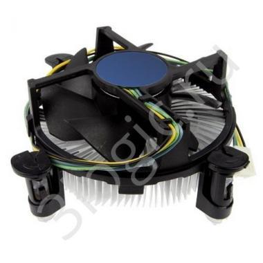 Вентилятор ACD-CD5L4-A Cooler, s.115x, TDP 65W, 600~2500rpm, 15.5~26.8dBA, push-pin, PWM ,OEM {50}