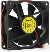 Вентилятор  Gembird FANPS 80x80x25, втулка, 2 pin, провод 30 см {100}