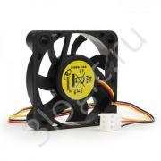 Вентилятор Gembird D50SM-12AS 50x50x10, втулка, 3 pin, провод 25 см {400}