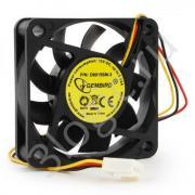 Вентилятор Gembird D6015SM-3 60x60x15, втулка, 3 pin, провод 25 см {100}