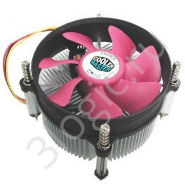 Вентилятор Bad Pack STD cooler A116  LGA1155+775, w/BP, Sleeve bearing, 2200RPM  (694)